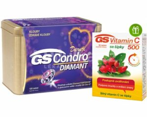 GS Condro Diamant v dárkové krabičce + GS Vitamín C